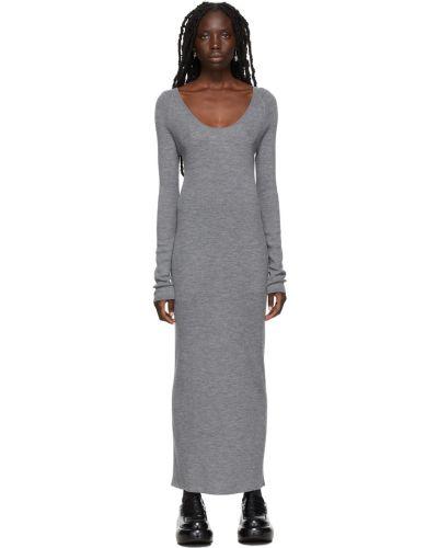 Платье макси с длинными рукавами Toteme