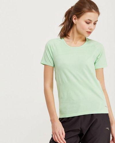 Зеленая спортивная футболка Anta