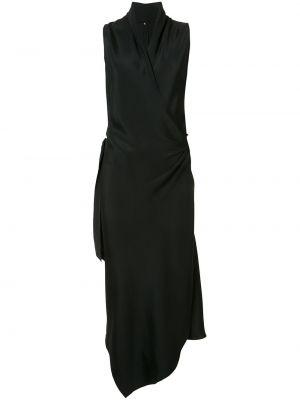 Платье с запахом с V-образным вырезом без рукавов на молнии Peter Cohen