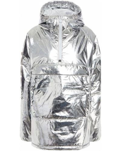 Куртка с капюшоном - серебряная Ienki Ienki