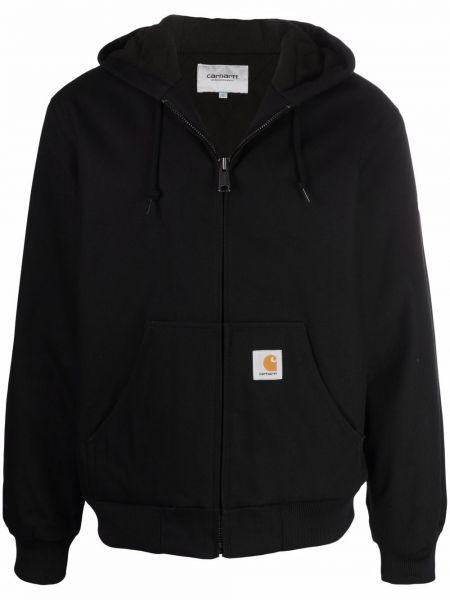 Черная хлопковая куртка Carhartt Wip