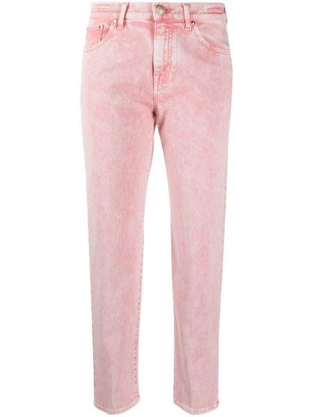 Прямые джинсы классические - розовые Jacob Cohen