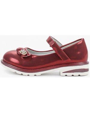 Туфли красные бордовый капитошка