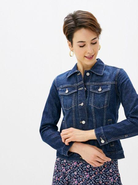 Джинсовая куртка весенняя синий Gap