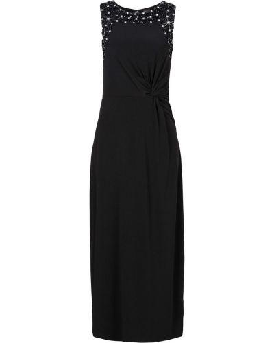Платье макси с вырезом мягкое Bonprix