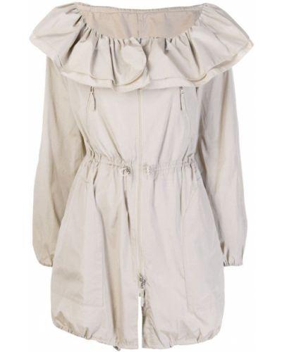 Длинное пальто с капюшоном Giorgio Armani Pre-owned