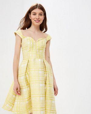 Вечернее платье желтый Fashion.love.story