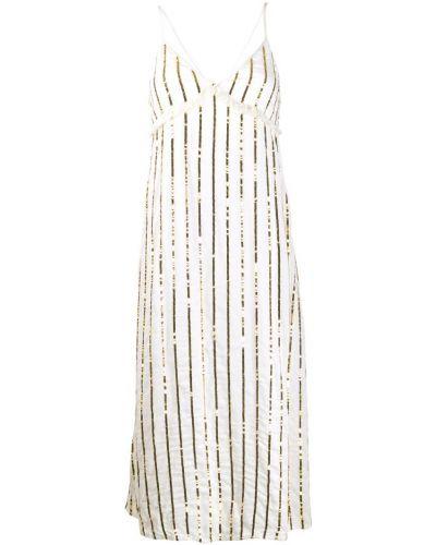 Платье на бретелях с V-образным вырезом Sundress