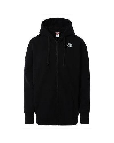 Bluza z kapturem - czarna The North Face