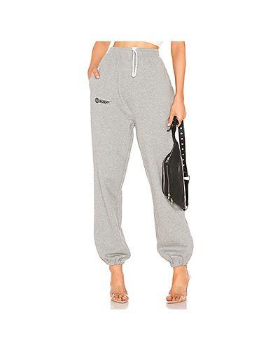 Спортивные брюки серые с карманами Danielle Guizio