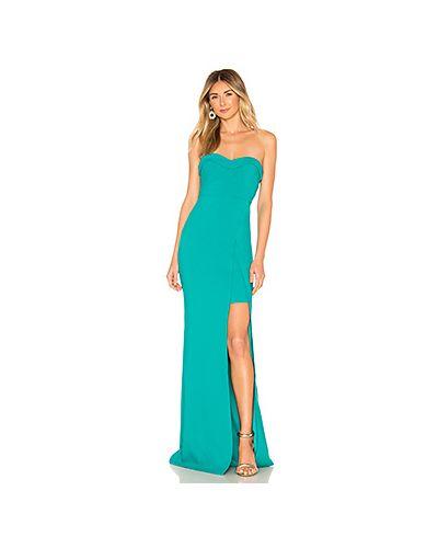 Вечернее платье бирюзовый на молнии Likely
