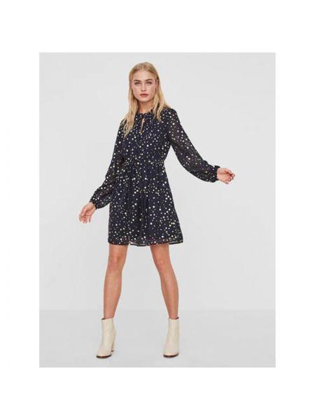 Платье миди мини в горошек Vero Moda