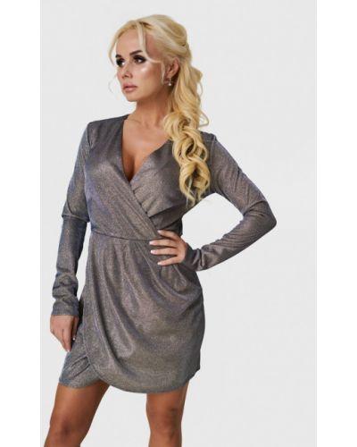 Вечернее платье - серебряное Luxlook
