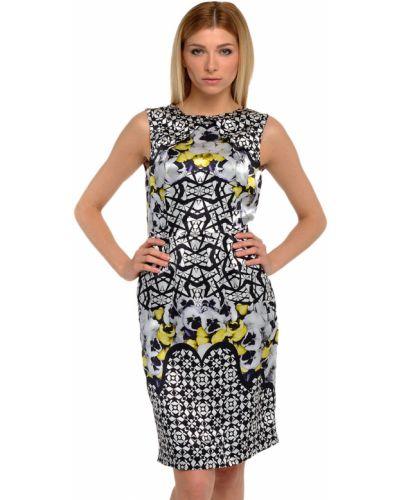 Шелковое платье - серое John Richmond