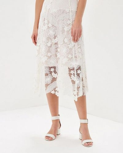 Белая юбка осенняя Tommy Hilfiger