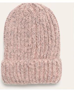 Акриловая розовая шапка бини Tally Weijl