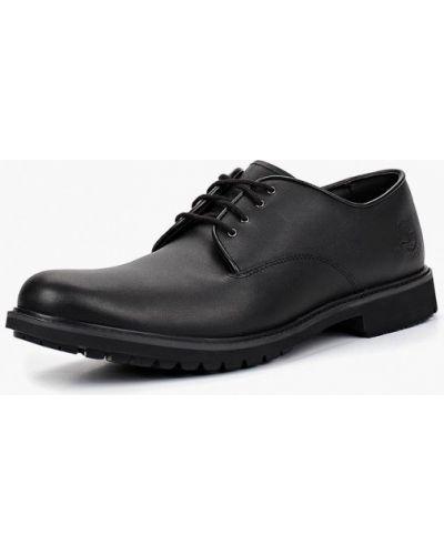 Черные туфли Timberland