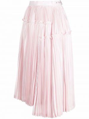 Розовая с завышенной талией плиссированная юбка миди Comme Des Garçons Noir Kei Ninomiya