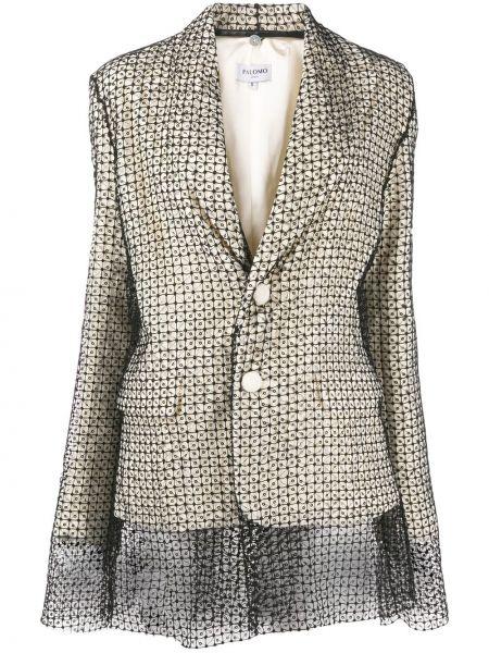 Прямой пиджак с карманами Palomo Spain