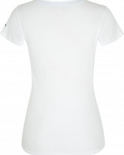 Хлопковая белая футболка с короткими рукавами Icepeak