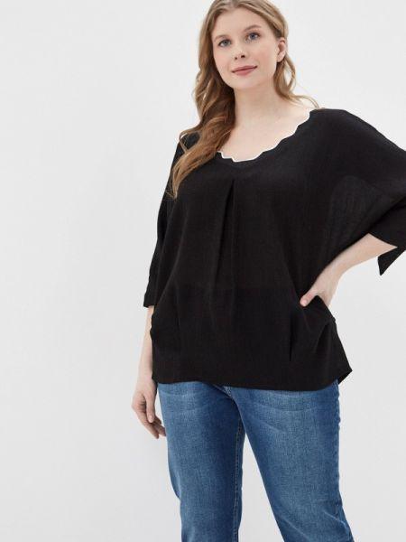 Блузка черная весенний Intikoma