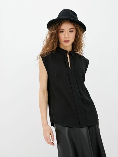 Блузка без рукавов черная весенний Concept Club