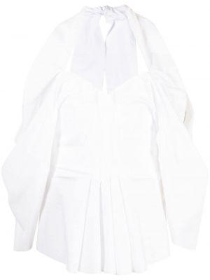 Biała koszulka bawełniana Maticevski
