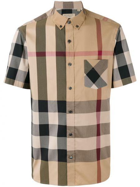 Koszula z długim rękawem klasyczna długa Burberry