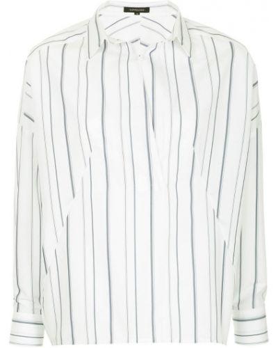 Рубашка белая в полоску Loveless