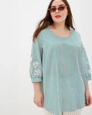 Блузка зеленый весенний Samoon By Gerry Weber