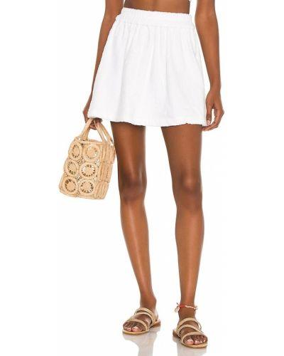 Spódnica bawełniana - biała Atoir