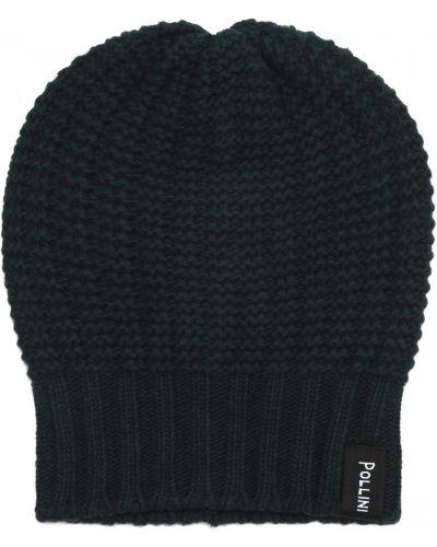 Текстильная шапка - зеленая Pollini