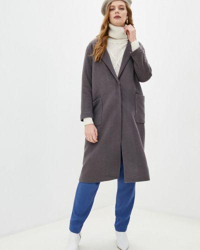 Серое пальто Blugirl Folies