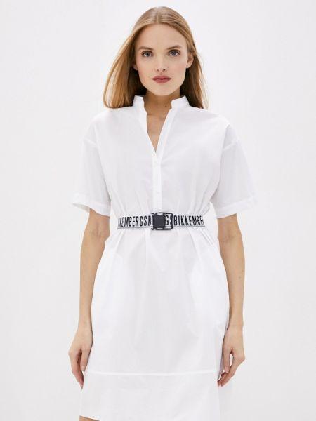 Белое платье Bikkembergs