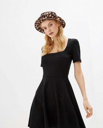 Платье прямое черное Gepur