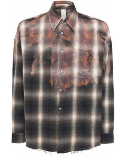 Czarna koszula bawełniana Giorgio Brato