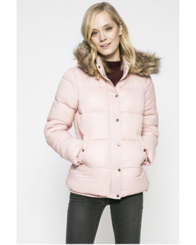 Стеганая куртка утепленная с капюшоном с мехом Review