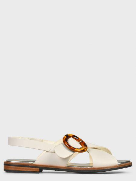 Кожаные сандалии - белые Frau