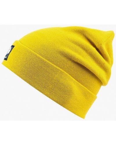 Желтая шапка осенняя The North Face