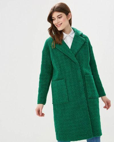 Пальто демисезонное зеленое Top Secret