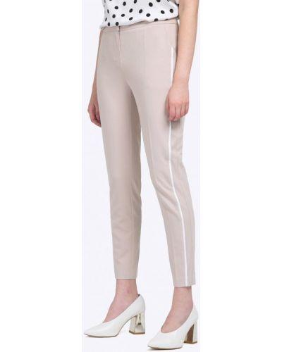 Бежевые зауженные брюки Emka