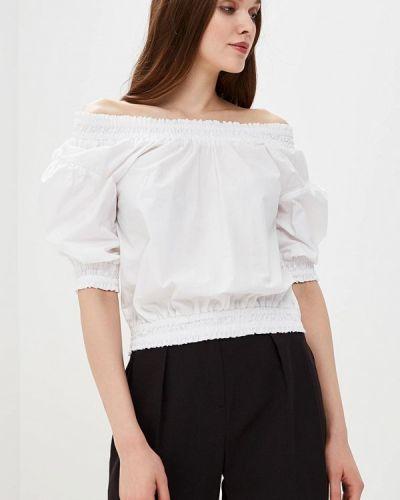 Блузка с открытыми плечами белая весенний Piazza Italia