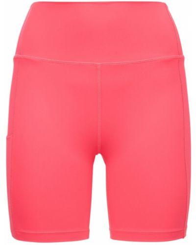 Розовые шорты с карманами Splits59