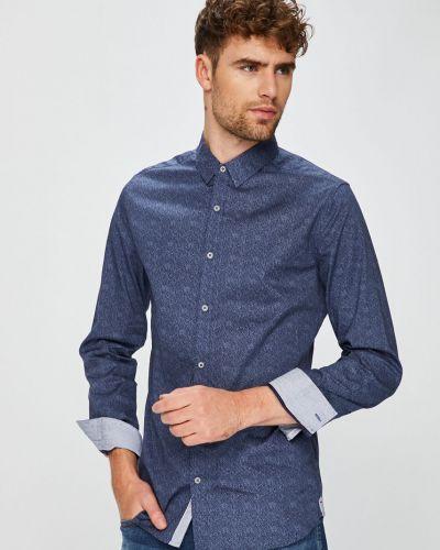 Рубашка с длинным рукавом однотонная хлопковая Medicine