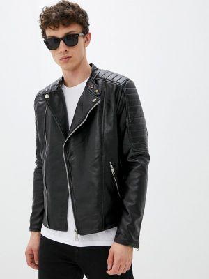 Черная куртка осенняя Terance Kole