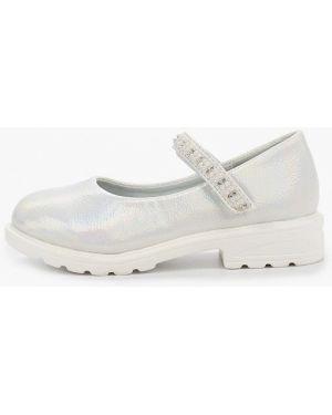 Туфли серебряный капитошка