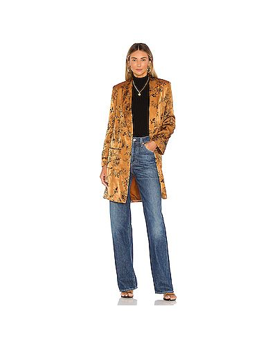 Куртка бархатная с карманами House Of Harlow 1960