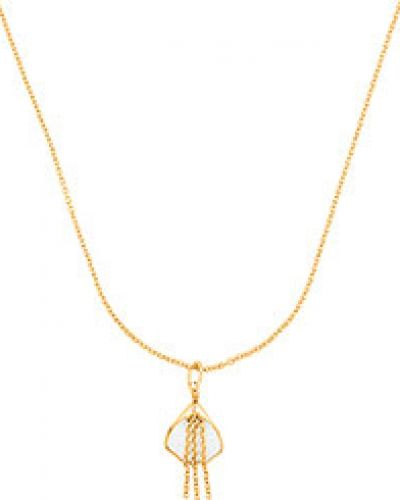Золотая подвеска на цепочке золотой Nina Ricci