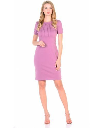 С рукавами платье-футляр с вырезом со складками Rosa Blanco