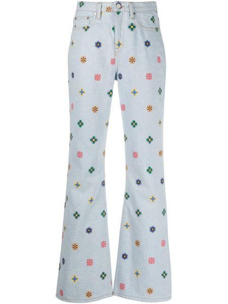 Klasyczne niebieskie jeansy bawełniane Kirin